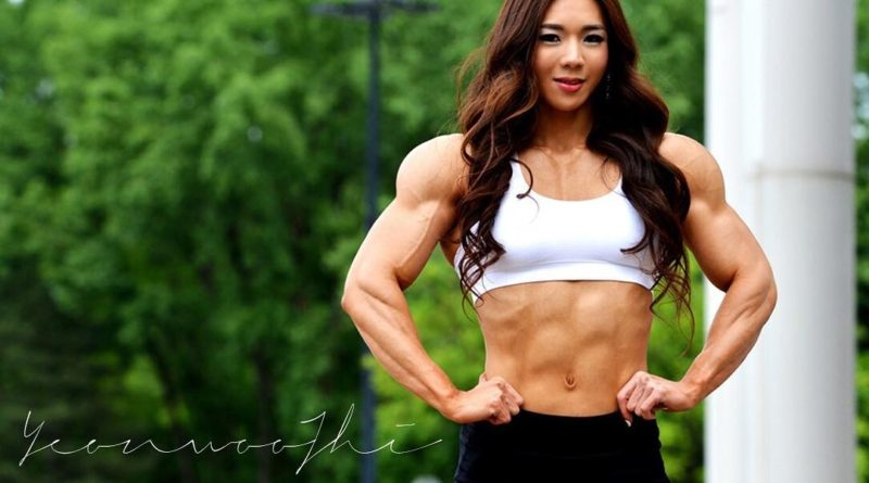 Хрупкая кореянка решила спастись от социофобии в спортзале и стала бодибилдером