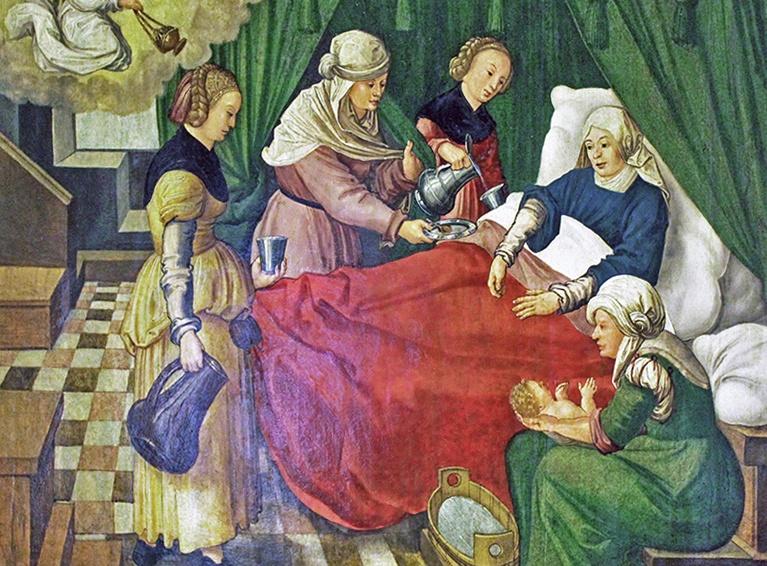 Средневековая беременность.