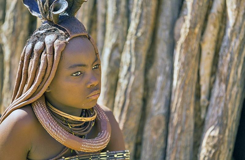 Жители племени Химба