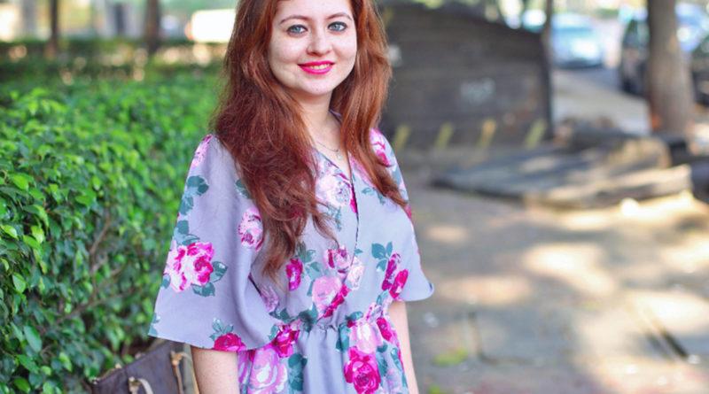 Рыжеволосая и голубоглазая индианка Пуджа
