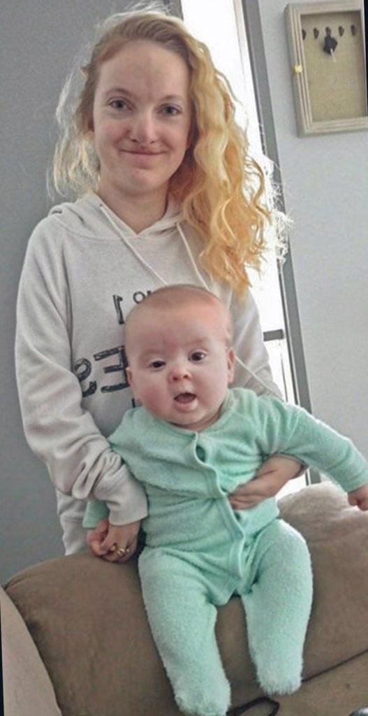 Женщина, без мышц родила здорового малыша