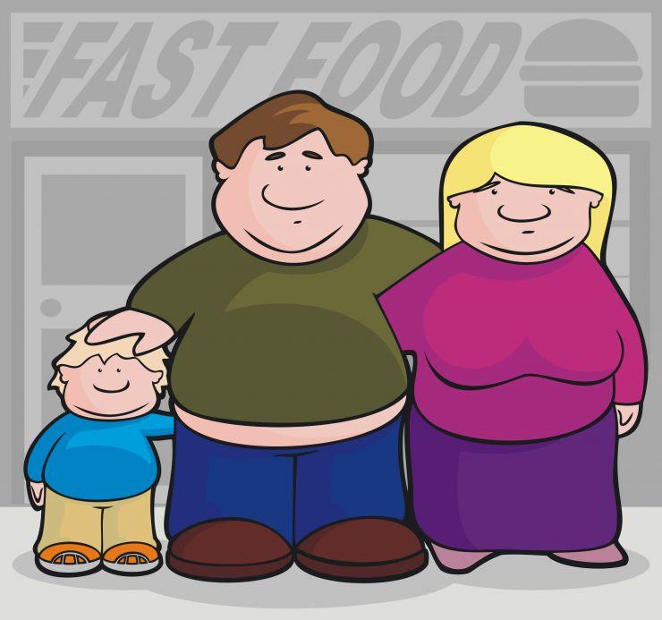 Ожирение и гены не всегда взаимосвязаны. Образ жизни влияет гораздо больше.