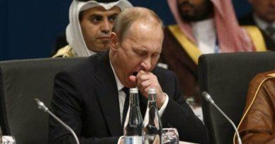 Зевота Путина